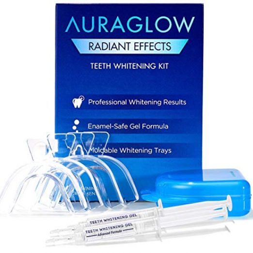 AuraGlow Radiant Effects Teeth Whitening Kit